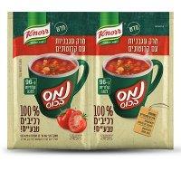 נמס בכוס מרק עגבניות 100% רכיבים טבעיים קנור 24 גרם