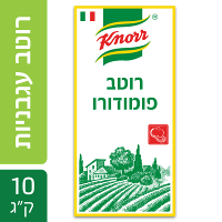 """רוטב עגבניות פומודורו קנור פאוץ' 10 ק""""ג"""