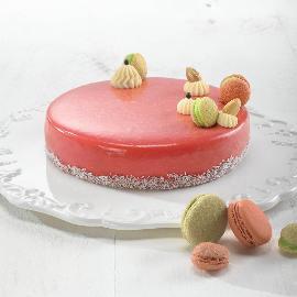 מוס שוקולד לבן עם תפוחים ודבש