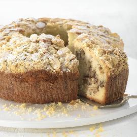 עוגת וניל עם תפוחים ואגוזים