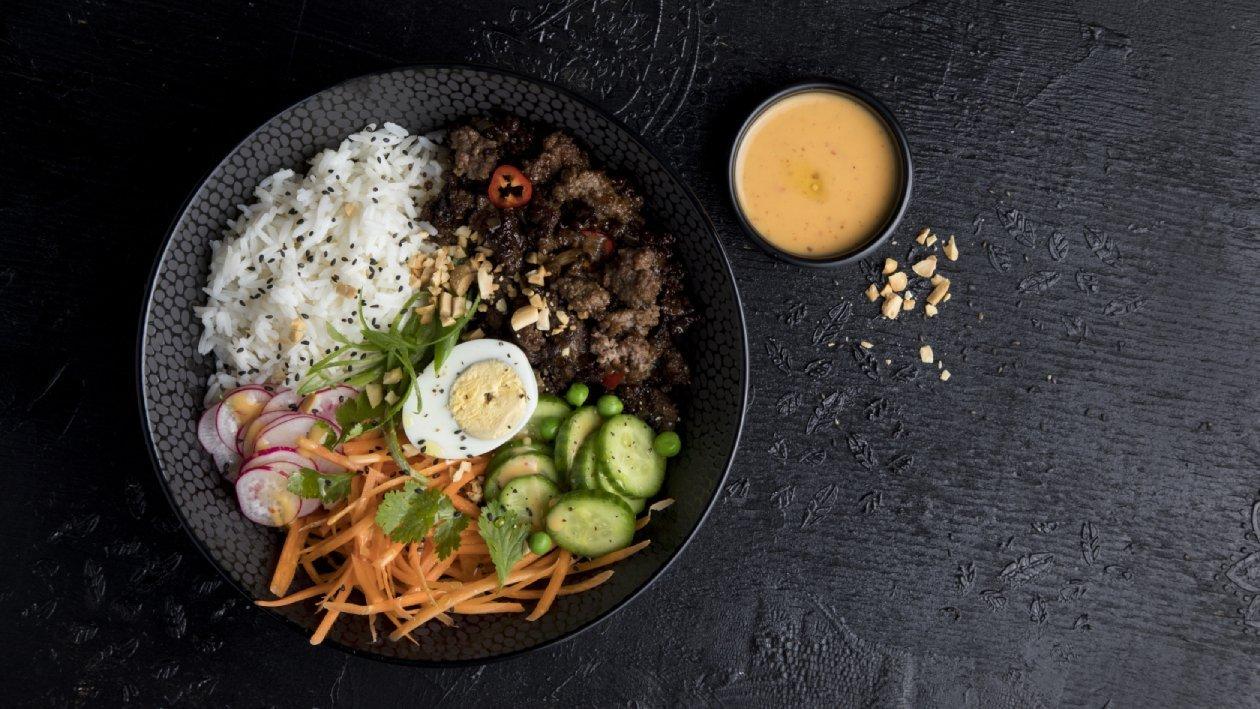 בול פאד קפאו תאילנדי – פוקי בול מתכון להכנת קערת פוקי, מזון רחוב של הוואי אצלכם בצלחת > מתכוני השראה לשפים