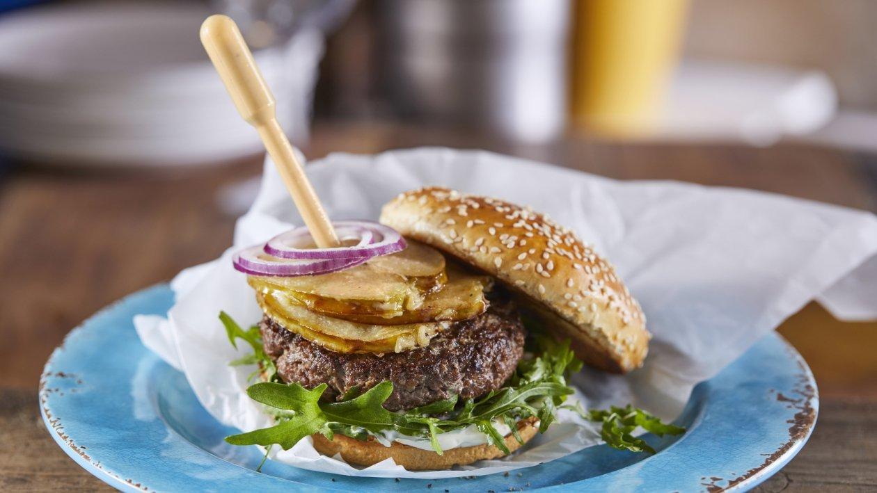 המבורגר אפל מייפל – מתכון
