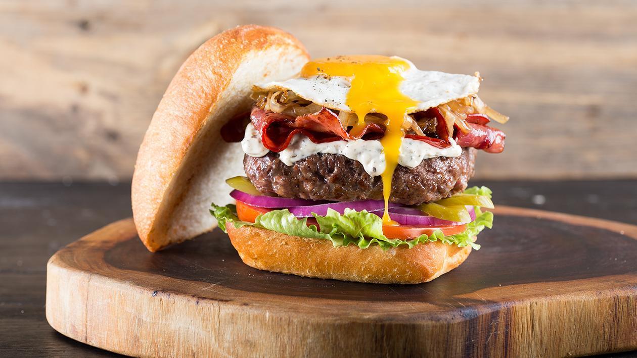המבורגר ה-4 ביולי – פוקי בול מתכון להכנת קערת פוקי, מזון רחוב של הוואי אצלכם בצלחת > מתכוני השראה לשפים