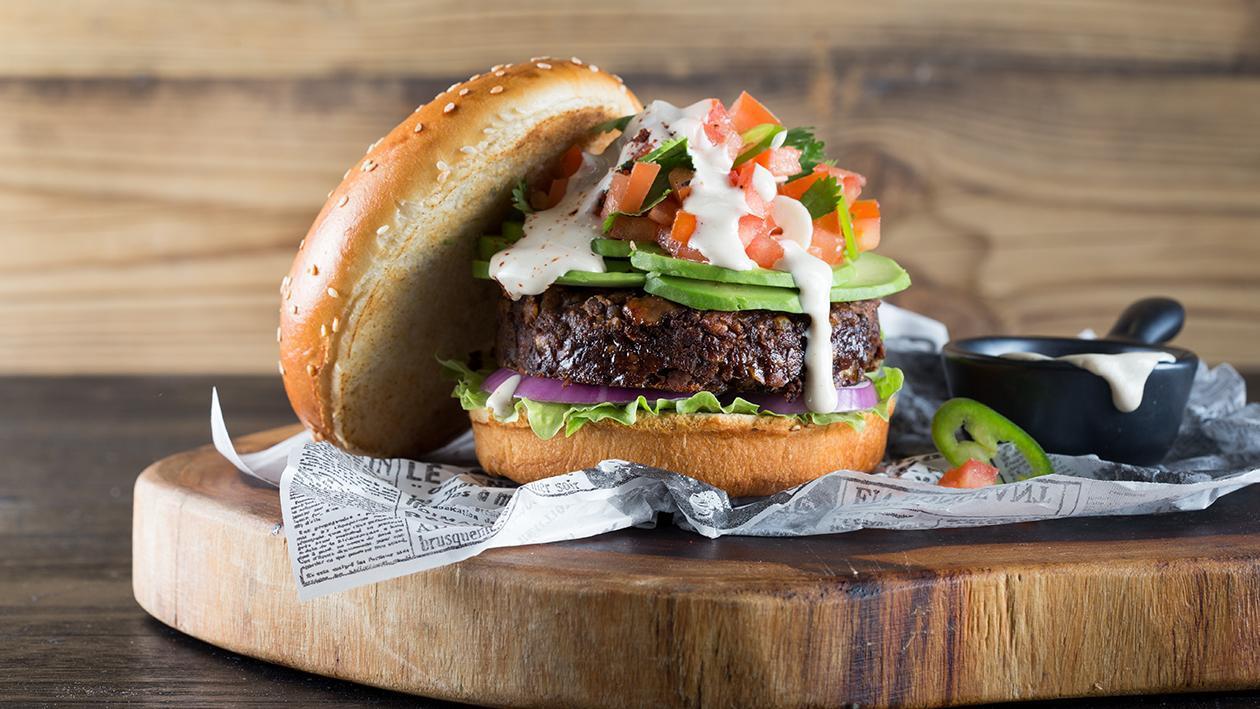 המבורגר טבעוני – מתכון