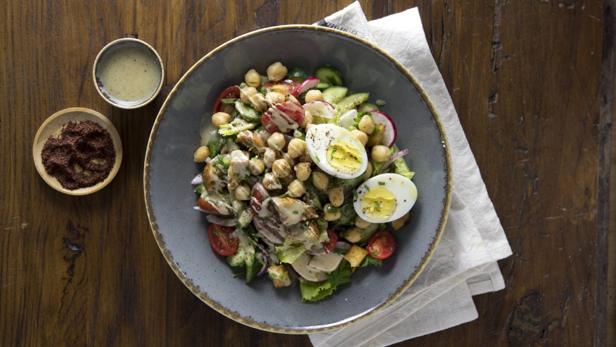 סלט ירקות ירושלמי – פוקי בול מתכון להכנת קערת פוקי, מזון רחוב של הוואי אצלכם בצלחת > מתכוני השראה לשפים