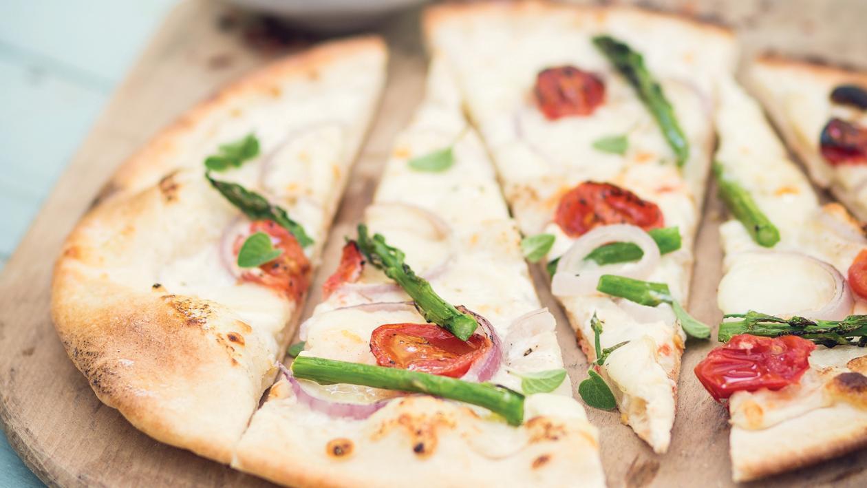 פיצה ביאנקה – מתכון