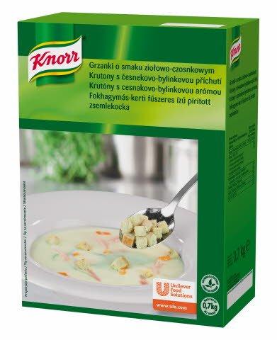 Knorr Prepečene kockice kruha s češnjakom 700 g -
