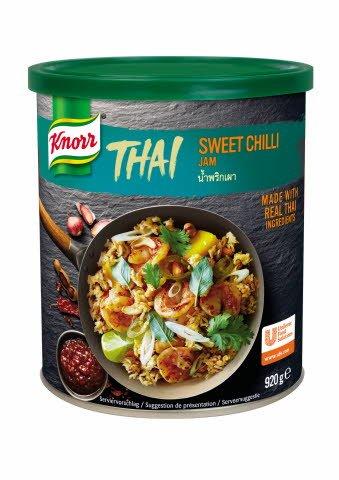 Knorr Thai Sweet Chilli Jam začinska pasta 920 g