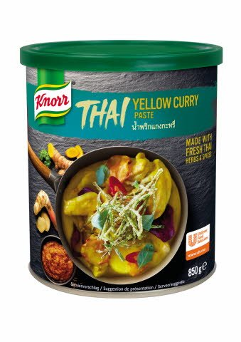 Knorr Yellow Thai-Curry začinska pasta 850 g