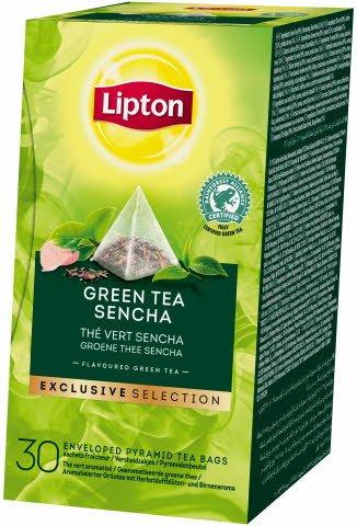 Lipton Sencha aromatizirani zeleni čaj s ružinim laticama, piramida 25/1 -