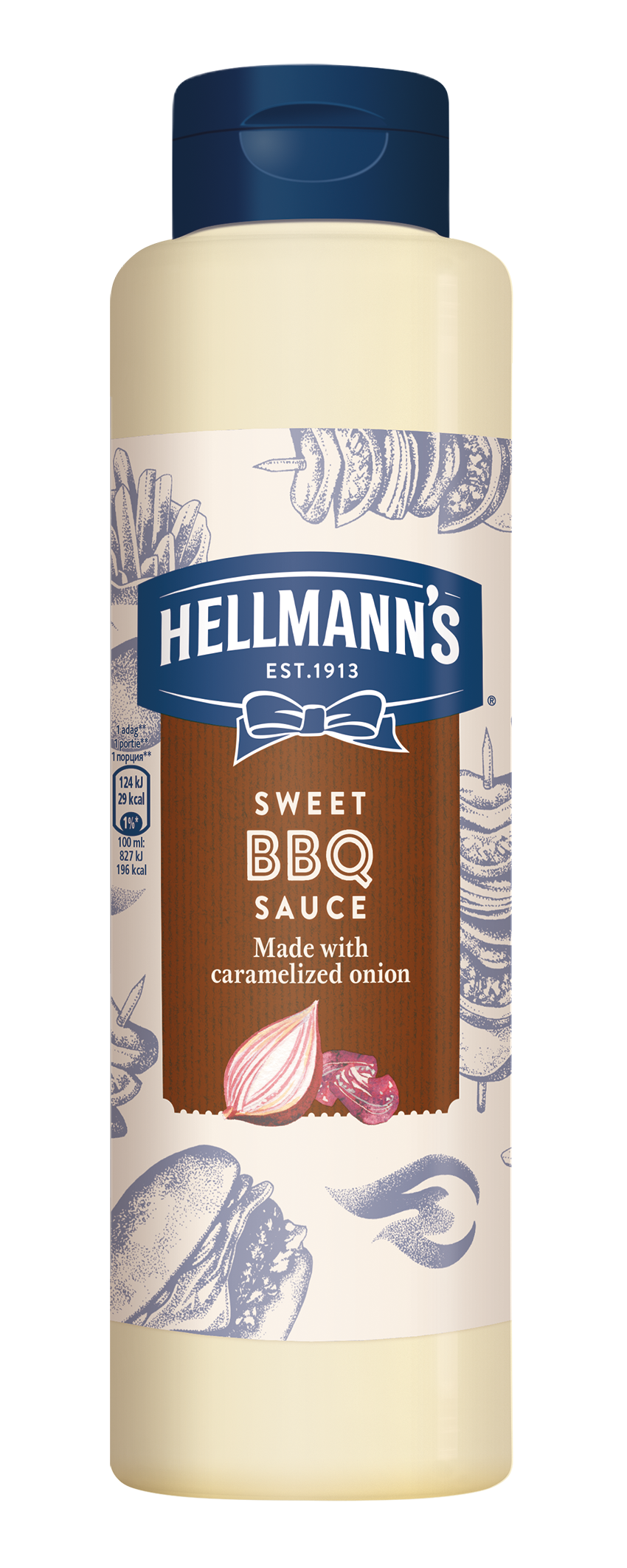 Hellmann's BBQ umak 792 ml