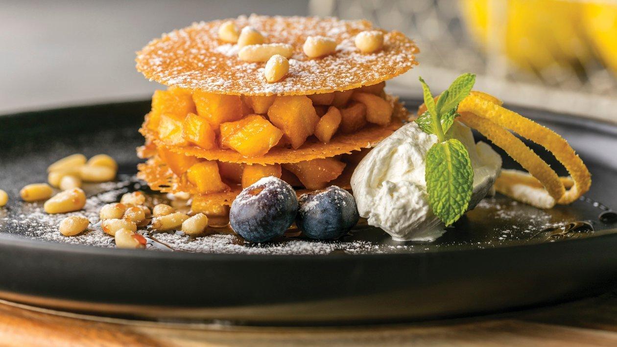 Desert s jabukom i citrusima