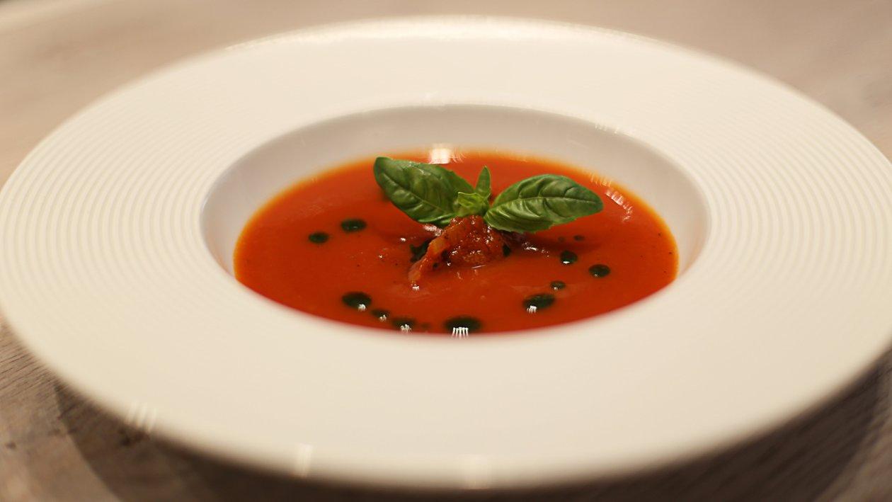 Krem juha od pečenih rajčica