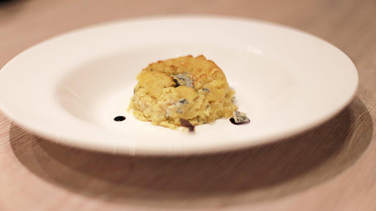 Palenta s gorgonzolom