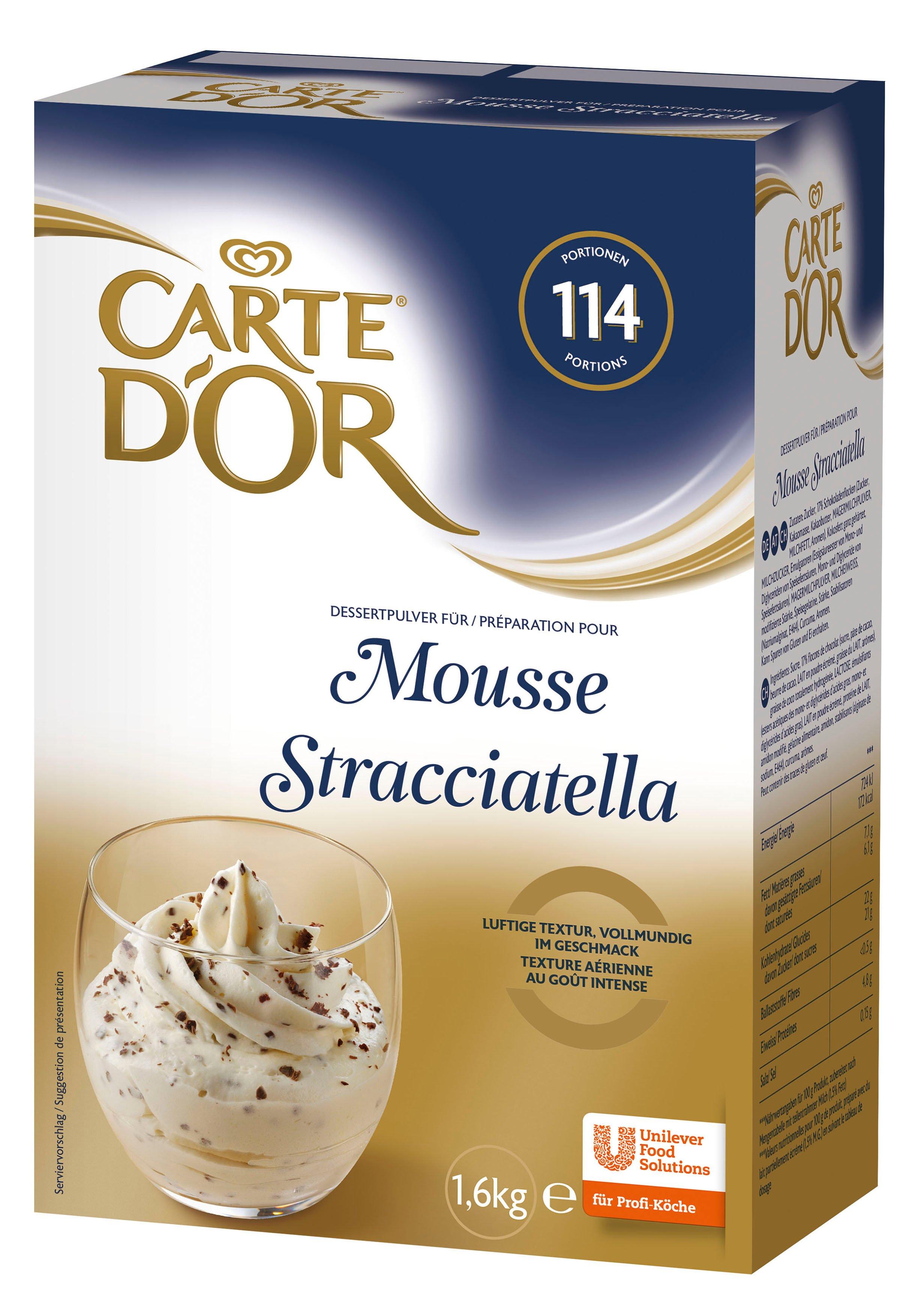 CARTE d'OR Stracciatella ízű hab -