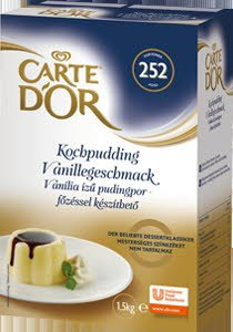 CARTE d'OR Vanília ízű pudingpor - főzéssel 1,5 Kg -