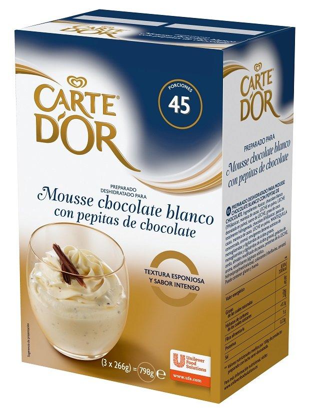 Carte d'OR Fehér Csokoládé mousse*
