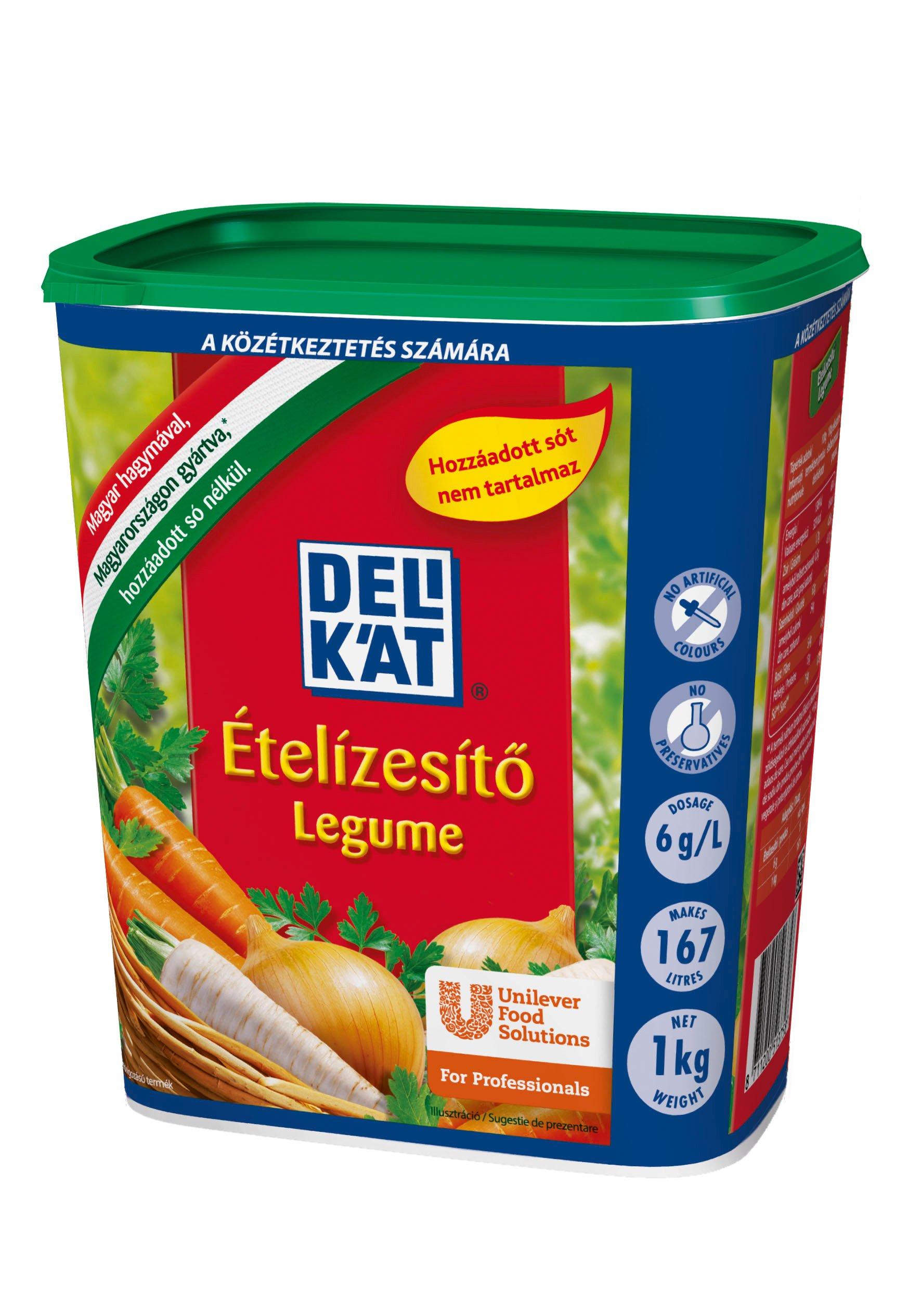 DELIKÁT Ételízesítő hozzáadott só nélkül 1kg**