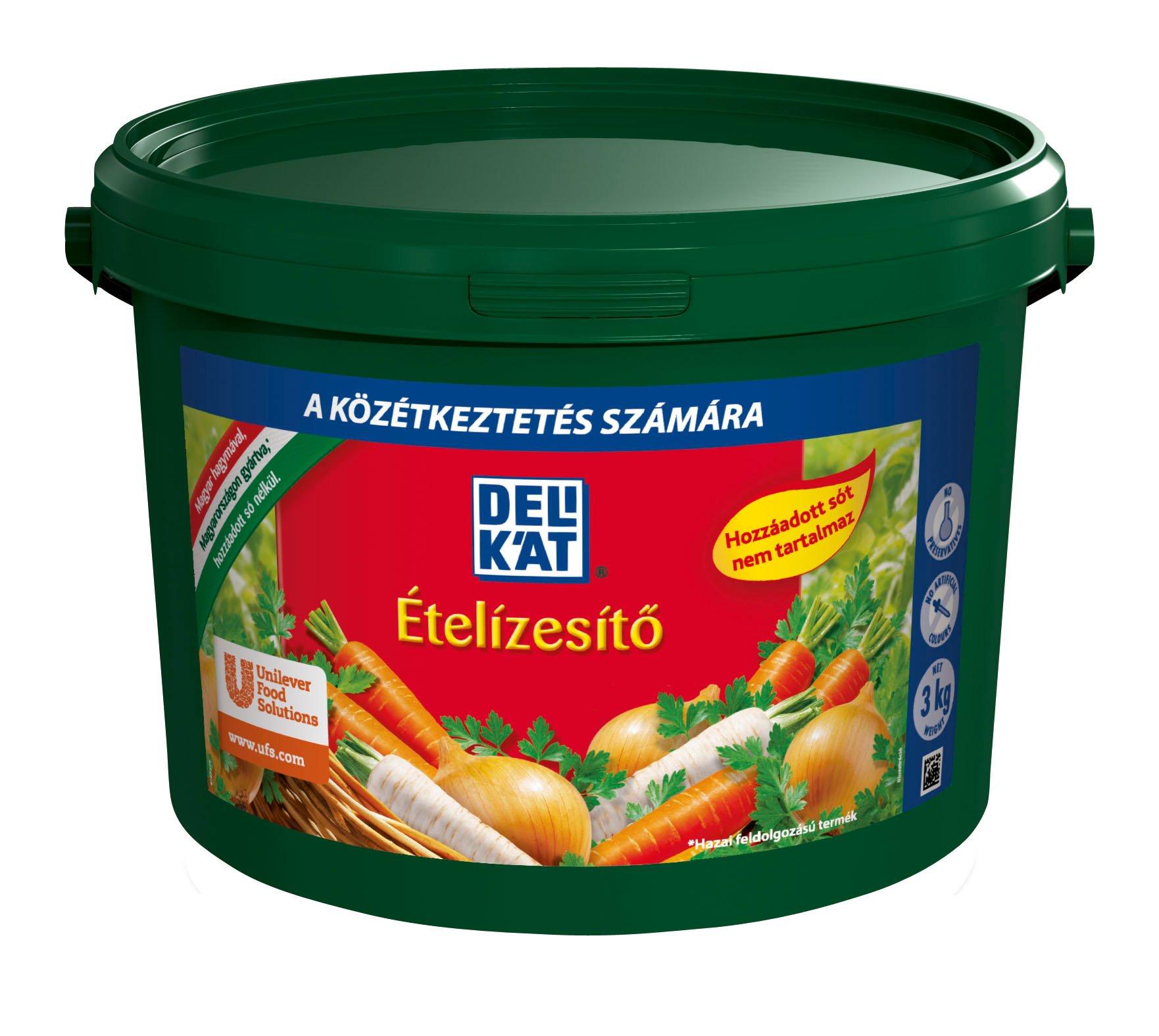 Delikát Ételízesítő hozzáadott só nélkül 3kg*