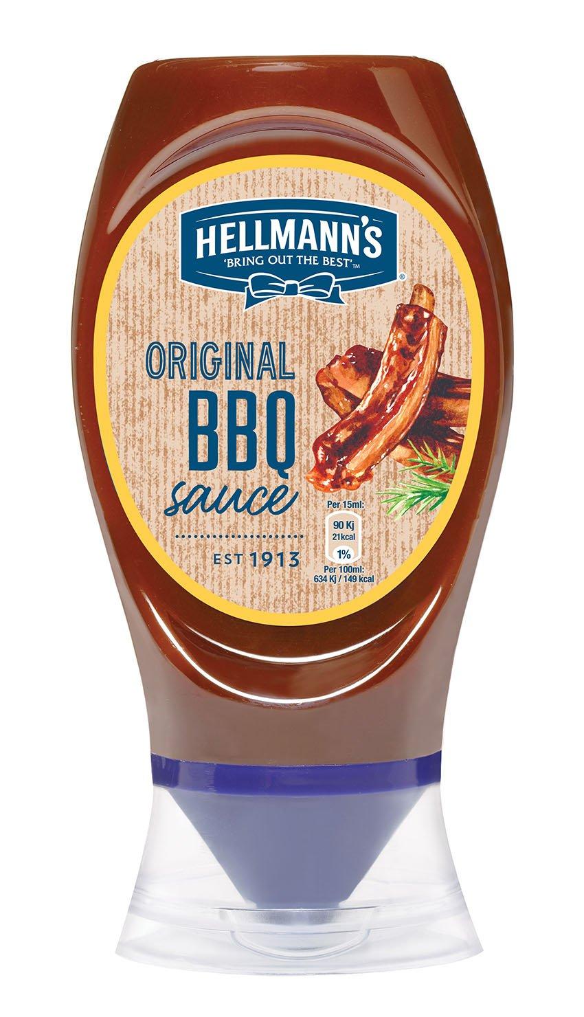 HELLMANN'S BBQ szósz flakonos