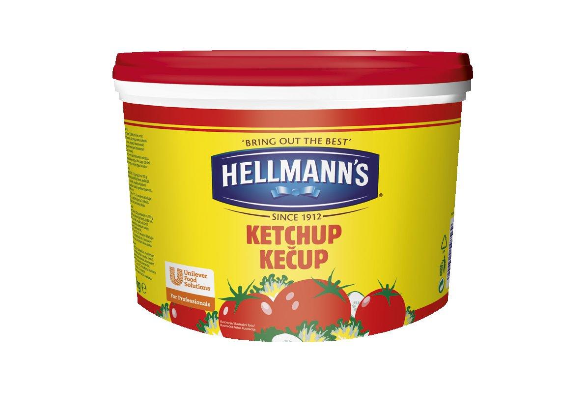 HELLMANN'S Ketchup vödrös