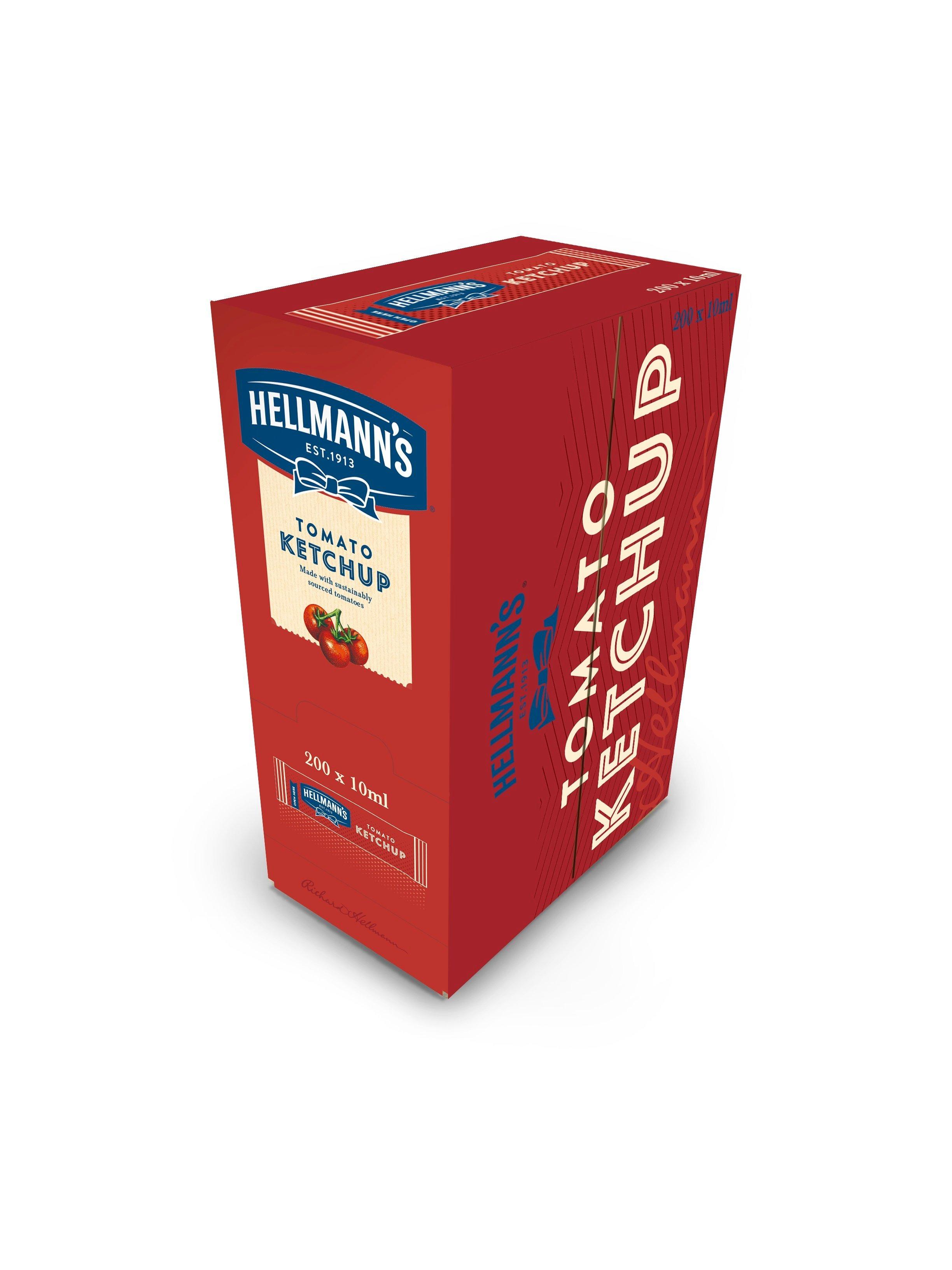 HELLMANN'S Mini Ketchup 15 ml x 200 db