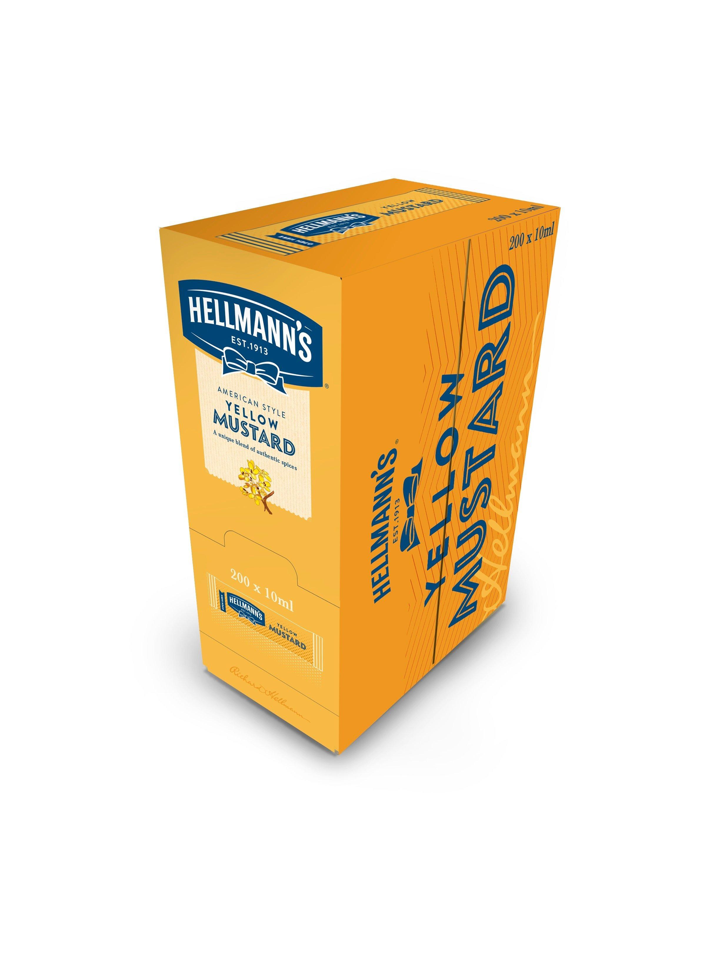 HELLMANN'S Mini Mustár 10 ml x 240 db