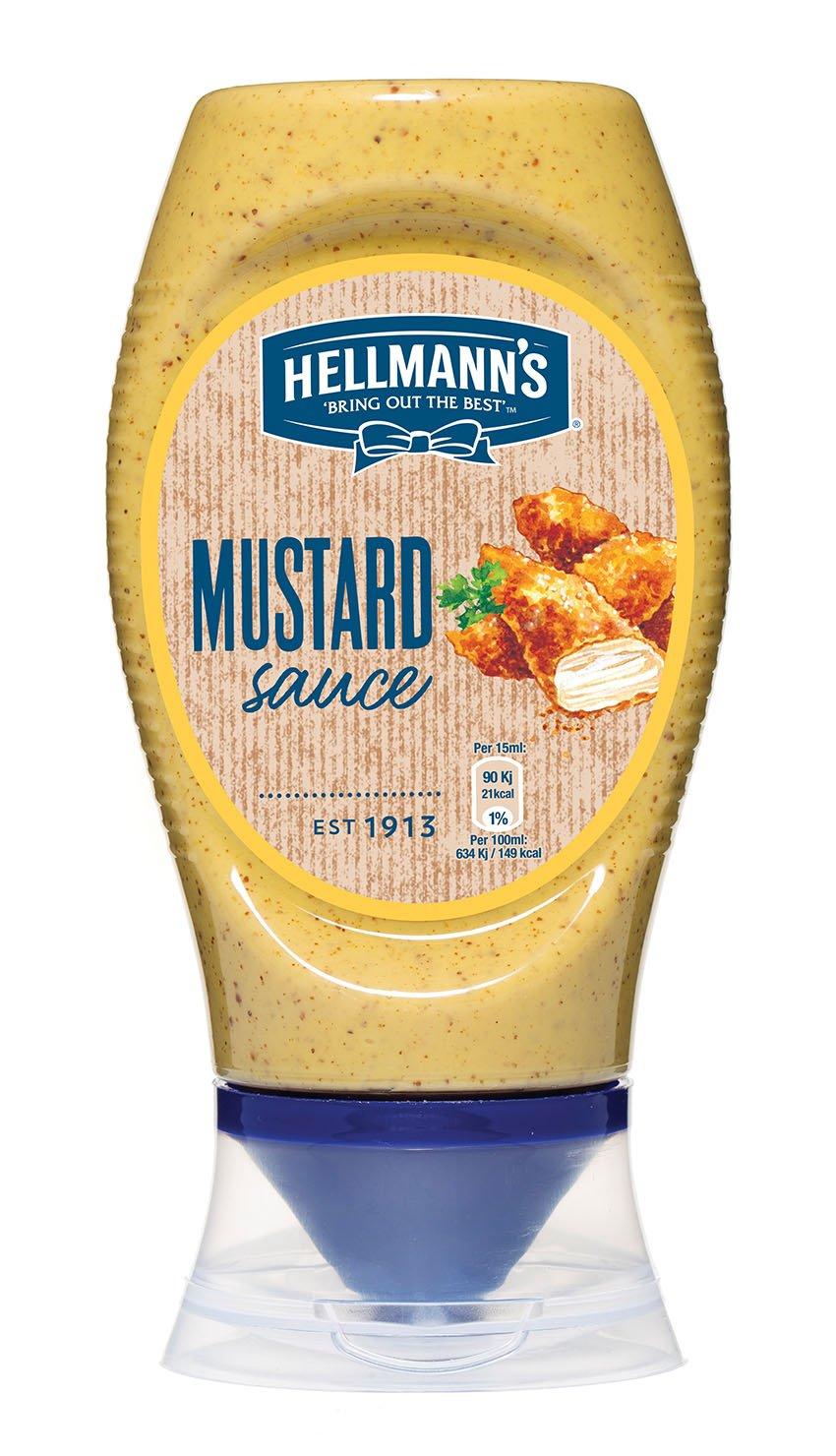 HELLMANN'S Mustár flakonos