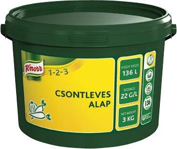 KNORR 1-2-3 Csontleves alap 3 kg