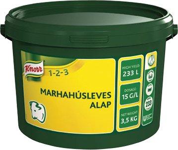 KNORR 1-2-3 Marhahúsleves alap 3,5 kg