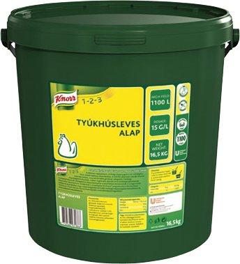 KNORR 1-2-3  Tyúkhúsleves alap 16,5 kg -