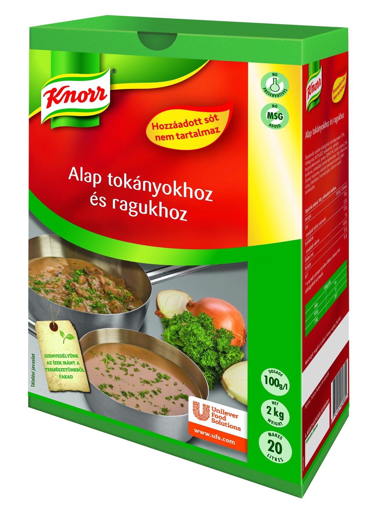 KNORR Alap tokányokhoz és ragukhoz - Hozzáadott só nélkül 2 kg -