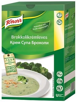 KNORR Brokkolikrémleves* -