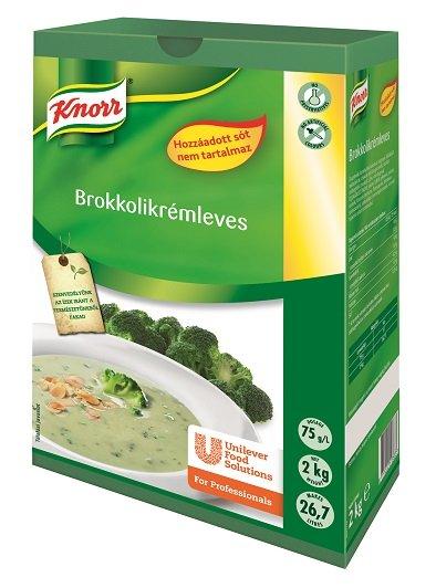 KNORR Brokkolikrémleves hozzáadott só nélkül 2 kg -