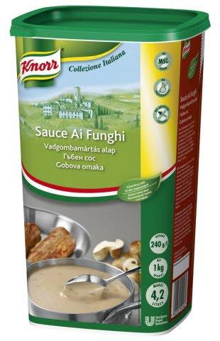 KNORR Collezione Italiana Funghi Gombás tésztaszósz alap 1 kg -