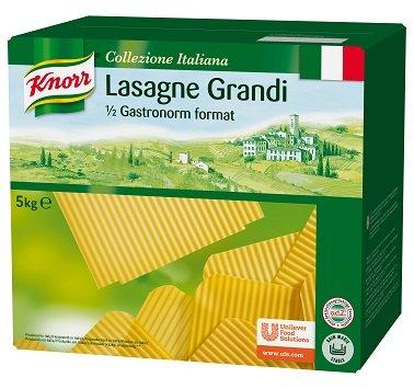KNORR Collezione Italiana Lasagne Grandi - tojásnélküli száraz tésztalapok 5 kg -