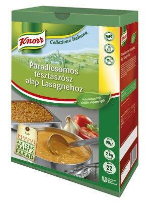 KNORR Collezione Italiana Paradicsomos tésztaszósz alap Lasagnehoz*