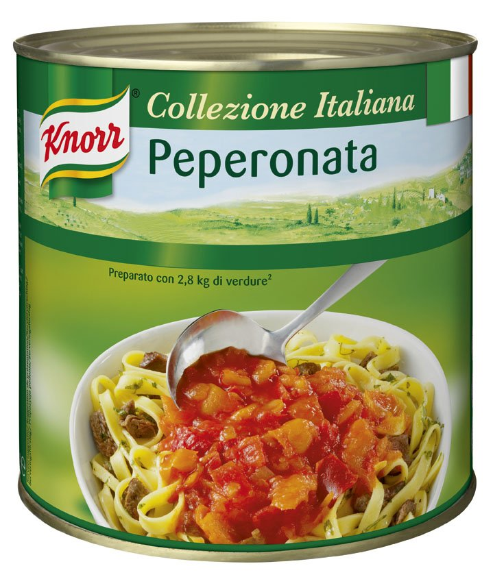 KNORR Collezione Italiana Színes paprikaragu paradicsommal**