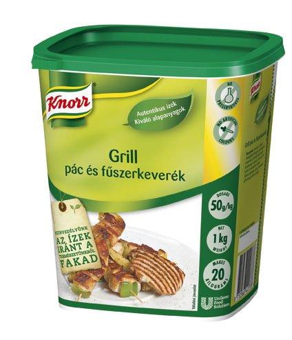 KNORR Grill pác és fűszerkeverék 1 kg -