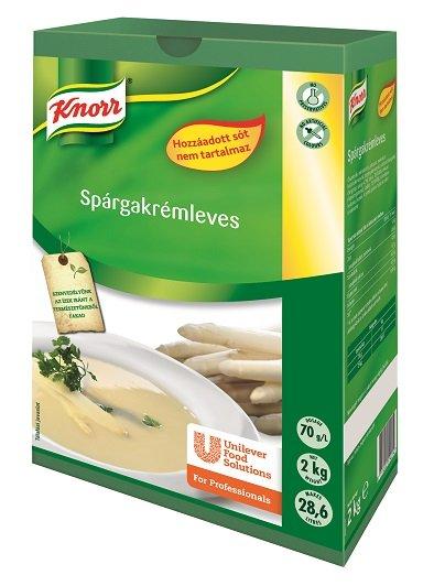 KNORR Spárgakrémleves hozzáadott só nélkül 2 kg -