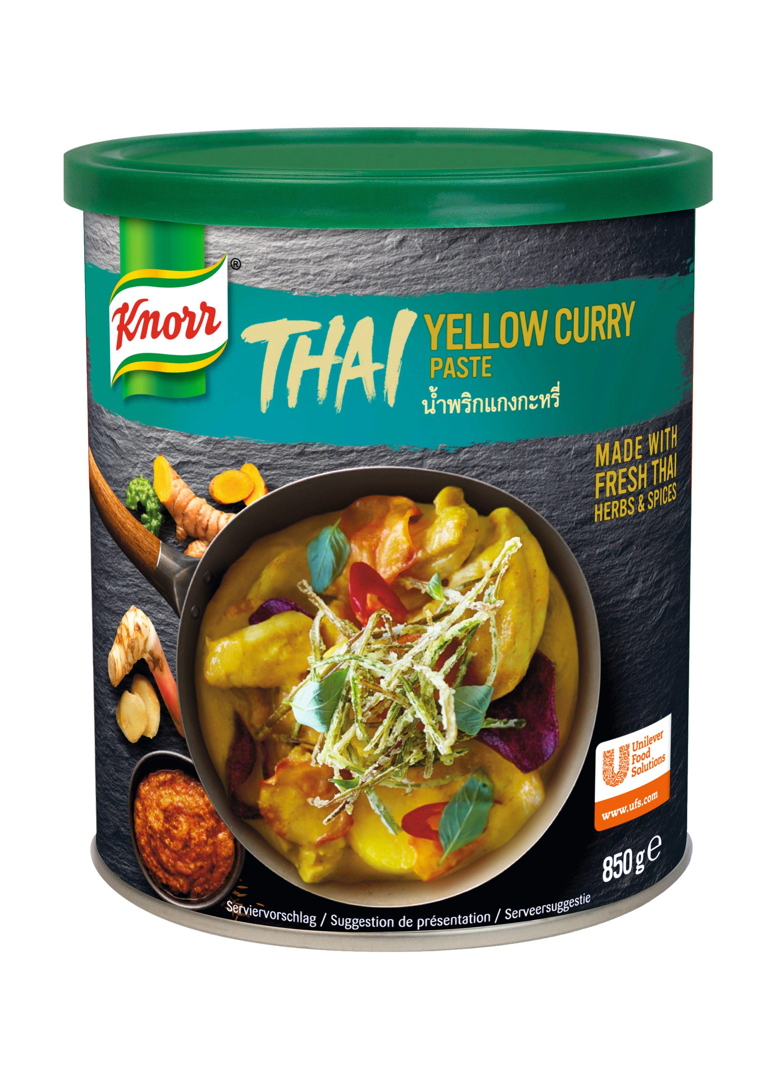 KNORR Thai Sárga Curry Paszta 0,85 kg -