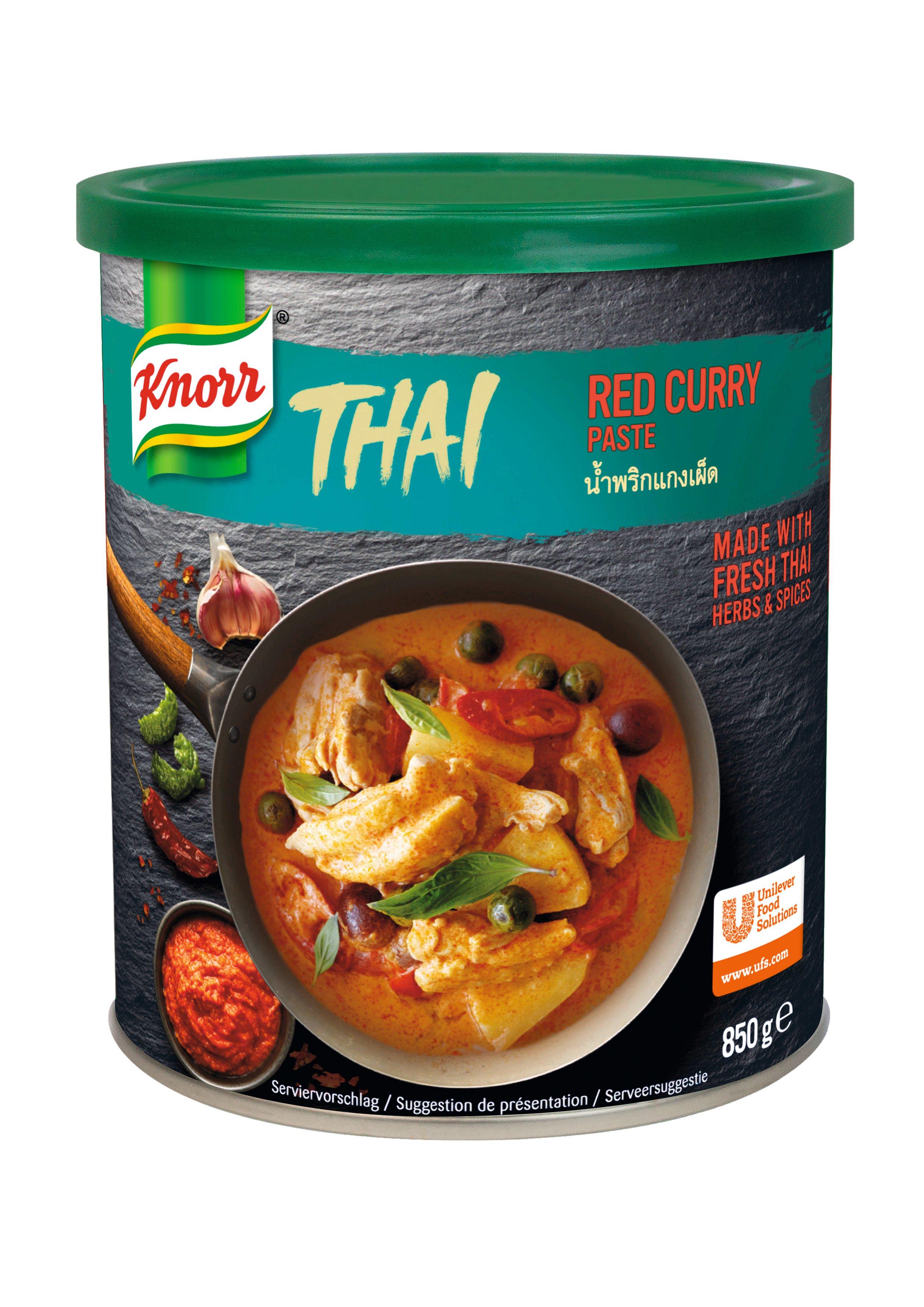 KNORR Thai Vörös Curry Paszta 0,85 kg -