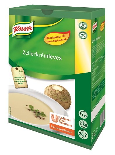 KNORR Zellerkrémleves hozzáadott só nélkül** -