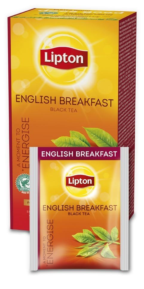 LIPTON English Breakfast - Filteres feketetea