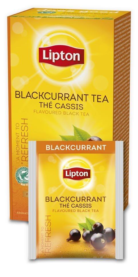 LIPTON Feketeribizli tea 25 x 1,6 g