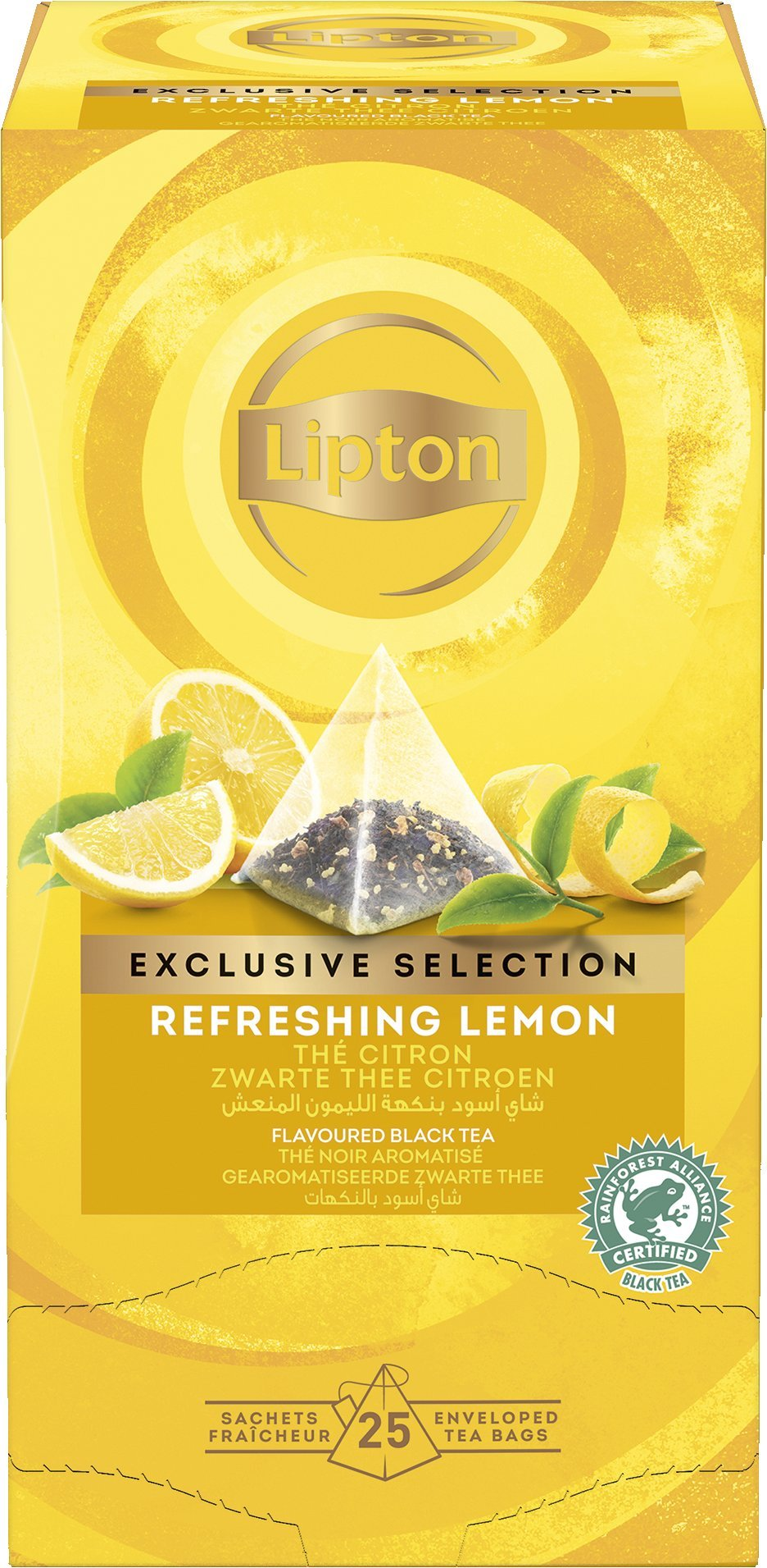 LIPTON Piramis Citrom tea