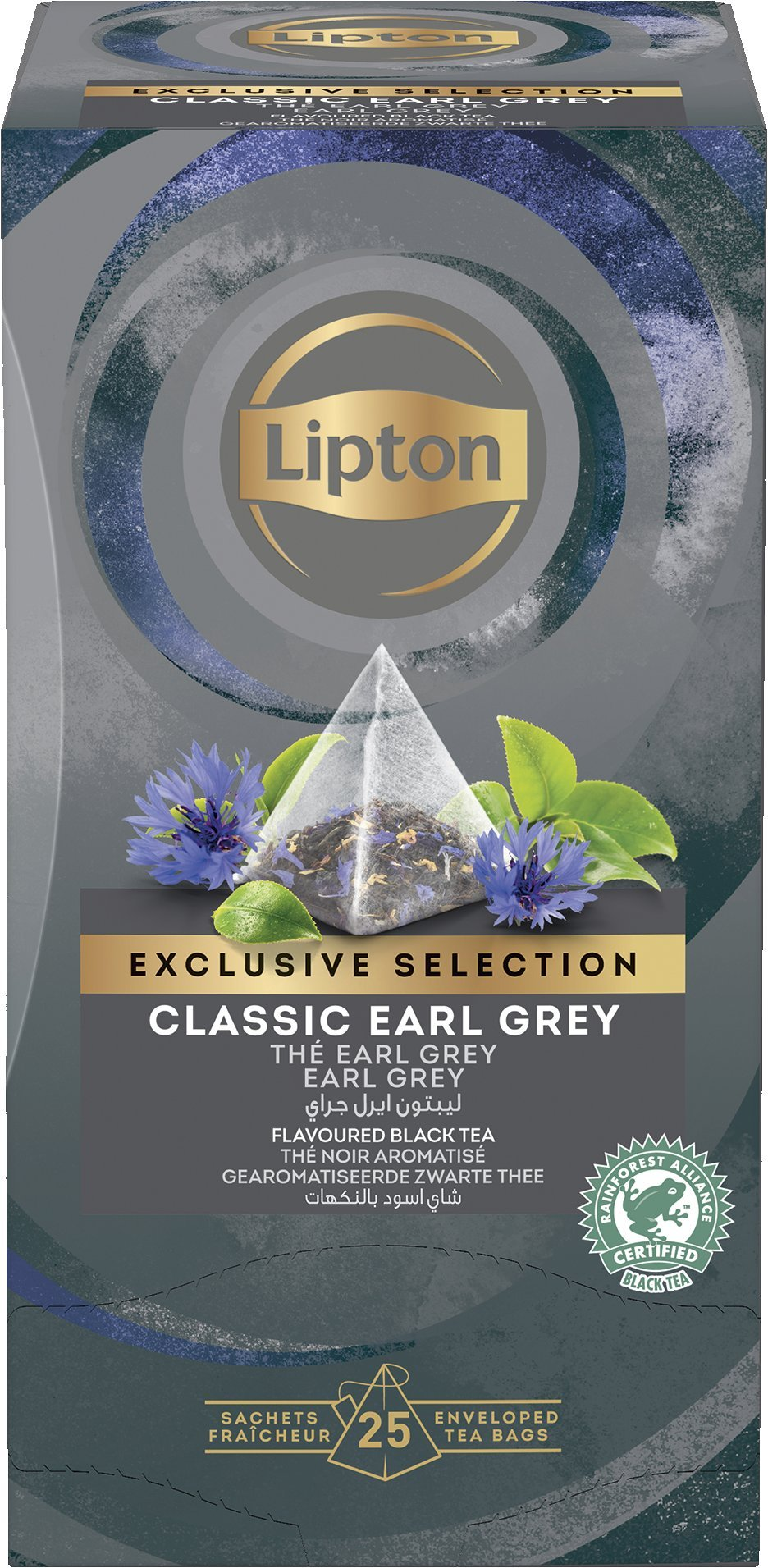 LIPTON Piramis Earl Grey tea -