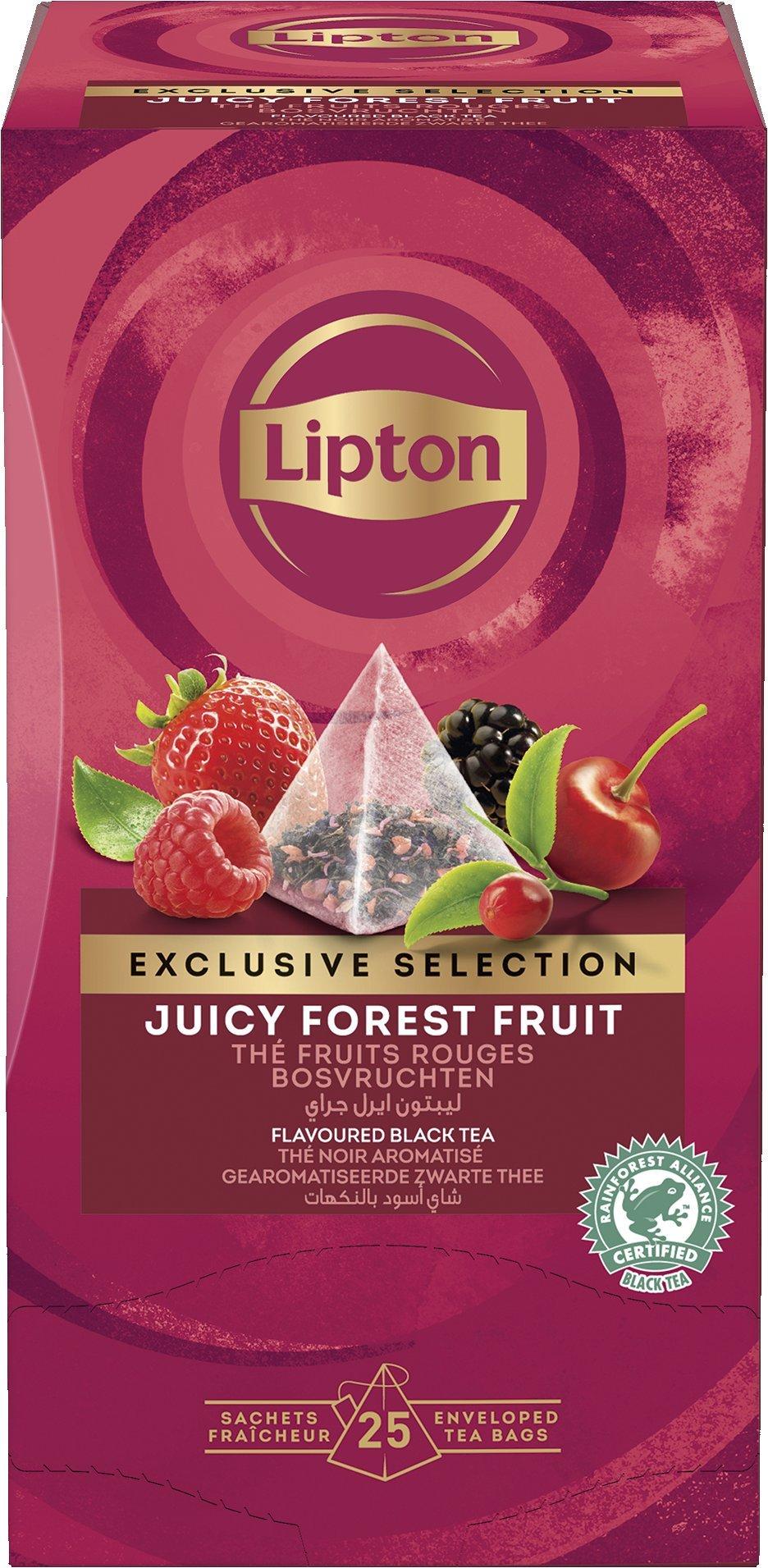 LIPTON Piramis Erdei Gyümölcs tea -
