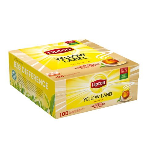 LIPTON Yellow Label tea 100 x 1,8 g