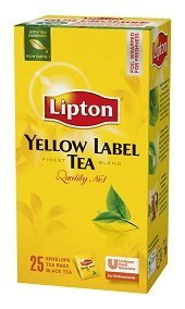 LIPTON Yellow Label tea 25 x 1,8 g